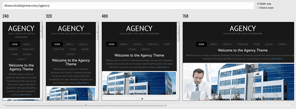 mobile responsive websites